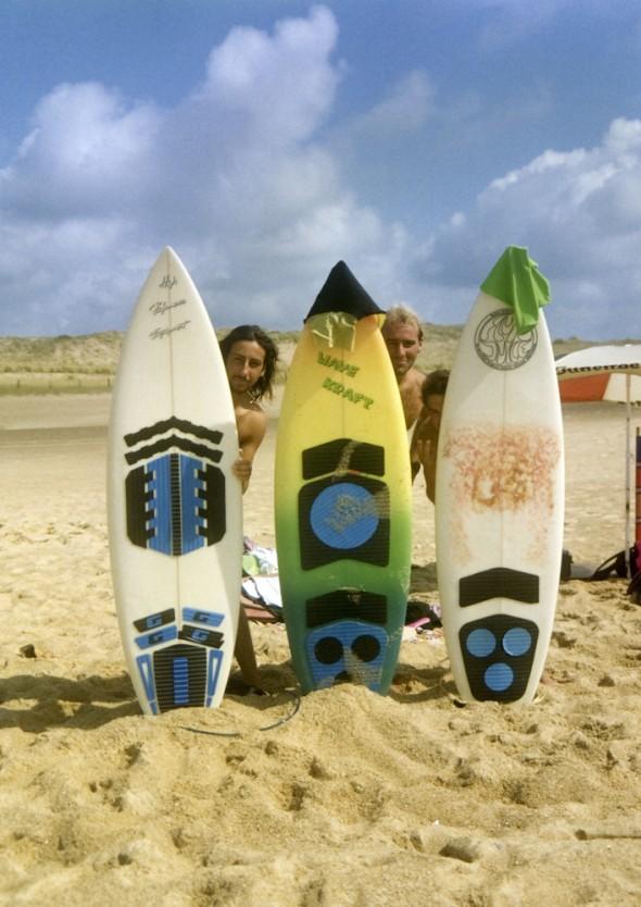 Rich, Paul and Stuart