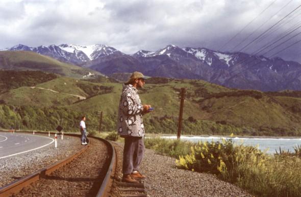 Paul Blackley at Mangamanu